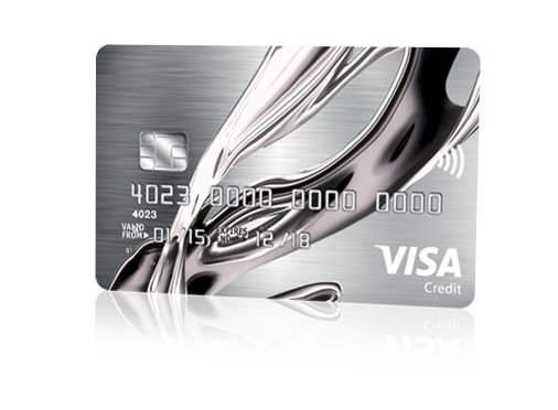 Make your credit future shine with the new chrome card reheart Image collections